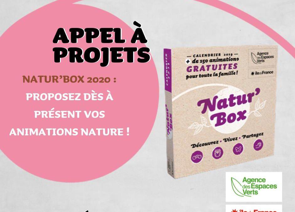 Natur' Box sortie AEV animation environnement